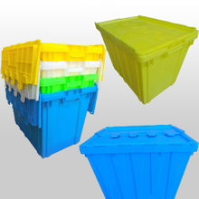 Wholesale Plastic Storage Boxes with Lids Plastic Stack And Nest Containers