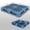 1200*1000*150 mm Stack-able plastic pallet with 6 runners bottom and open deck