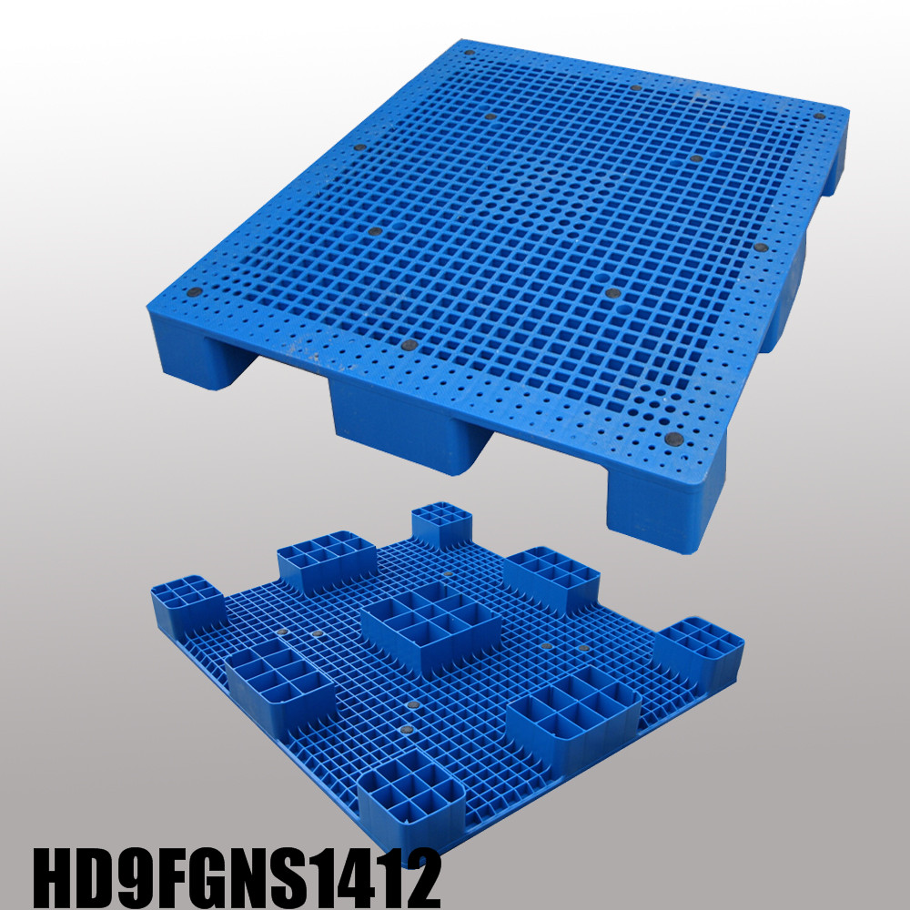 9 feet, Stackable plastic pallet L1400*W1200*H140