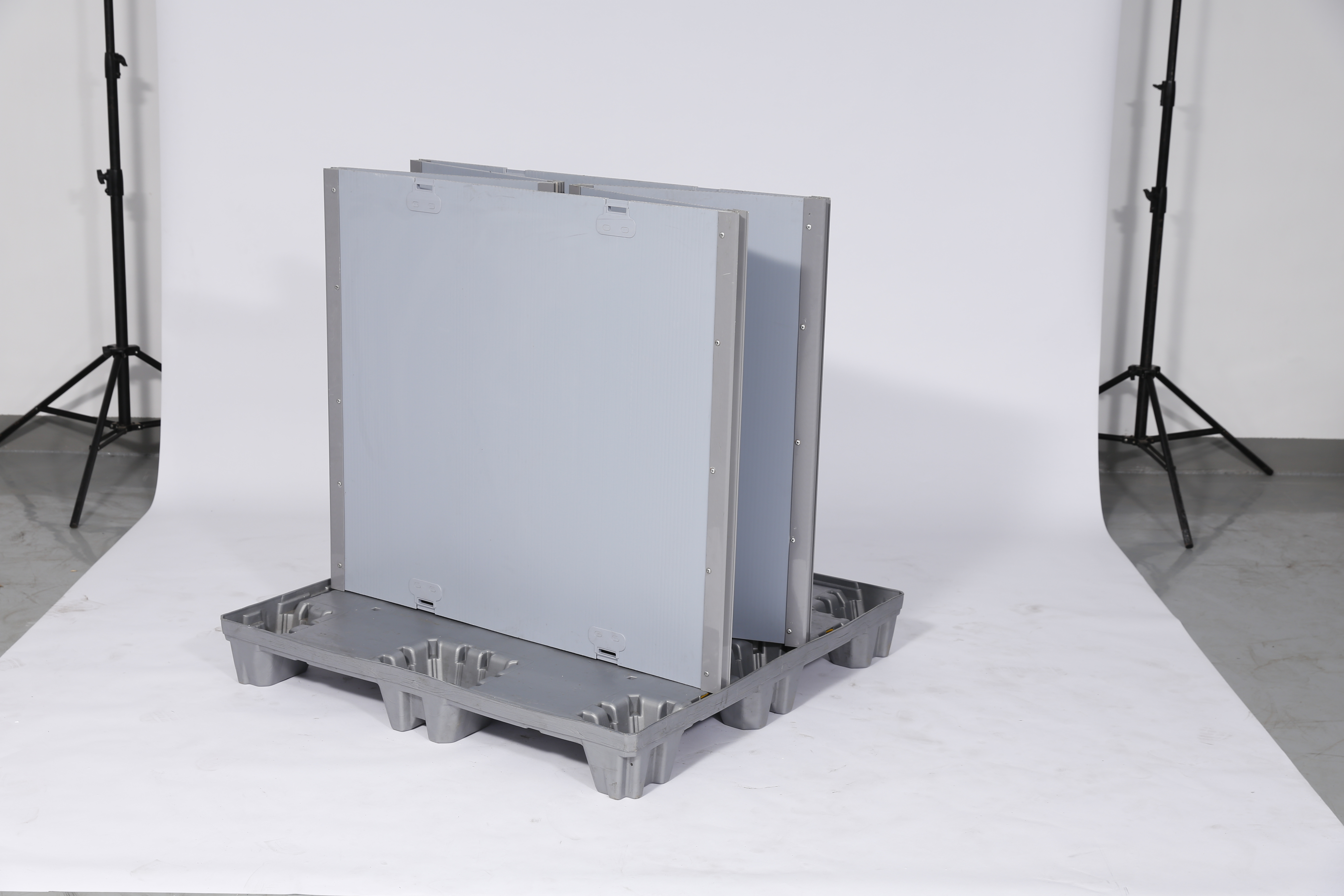 Sleeves Foldable Plastic Foldable Plastic Box with Pallet And Lid