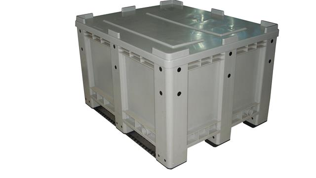 Export Heavy Duty Plastic Boxes Storage for Euro Sales