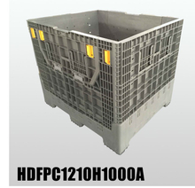 Foldable Pallet Container Bulk Plastic Containers with Lids