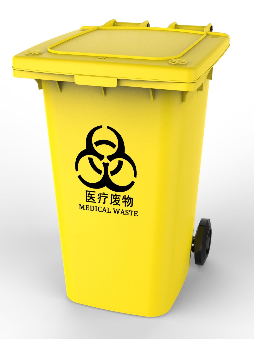 Plastic Dustbin 240L Recycling Garbage Cans