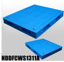 1300*1100 Double-faced Stackable blue plastic euro pallets