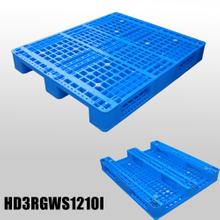 Plastic Storage Pallets Industry Plastic Pallet with 3 Runners And Open Deck