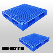 1100*1100*150 Double faced open deck plastic pallets
