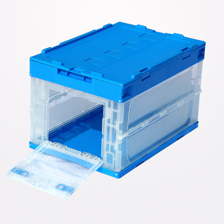 Collapsible box with side door 530-365-355