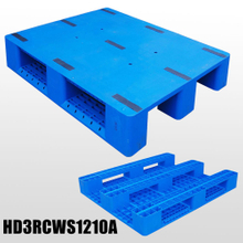 3Runner Closed Deck Plastic Pallet Injection Moulded Pallets