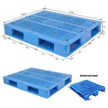 Export Industrial Plastic Pallets 4 Way for Sale