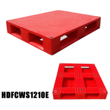 Solid Rackable Heavy Duty Plastic Pallets