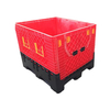 Stacking And Racking Heavy Duty Plastic Storage Pallet Box Container for Warehouse Storage