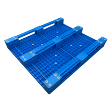 1300*1000 Three Runners HDPE Forklift Plastic Pallet