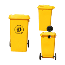 Moving Plastic Outdoor Garbage Bin for Warehouse Storage
