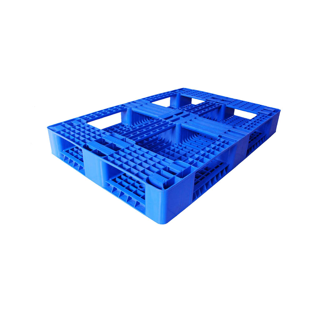 Four Way Entry Stacking And Racking Plastic Pallet
