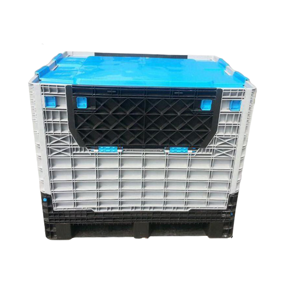 Plastic Pallet Bins for Sale Collapsible Pallet Containers Storage Boxes