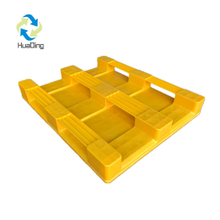 1200*1000 Three Runners Close Deck China Wholesale Plastic Pallet