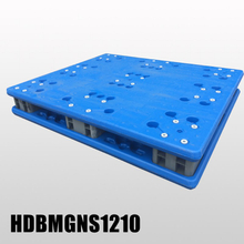 Extra high load capacity blow molding plastic pallet 1200x1000x170mm