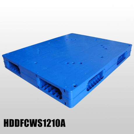 1200*1000 Double Faced Close Deck Stackable Blue Plastic Pallets