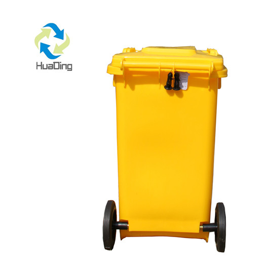 Plastic Dustbin Garbage Can with Wheels