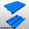 1200*800*150 mm plastic pallets with 3 runners and smooth surface