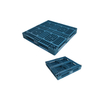 1100*1100 Full Perimeter Open Deck Stacked Forklifit Storage Plastic Pallet
