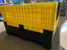 Reusable Plastic Pallets And Crates Reinforcing Rib Box Plastic Storage for Storage