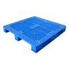 1300*1100 Three Runners Hdpe Open Deck Blue Plastic Pallet