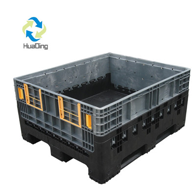 1200*1000*590 New Design Large Collapsible Plastic Pallet Box