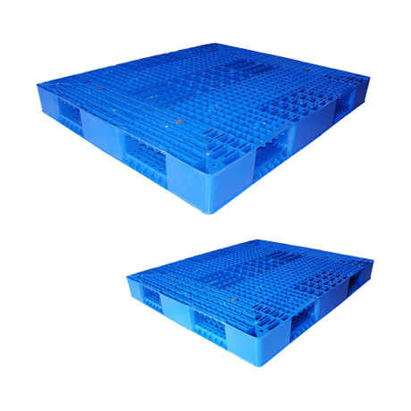 Double-Faced Grid Stackable New Plastic Pallets