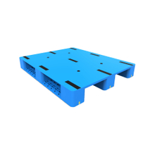 3 Runners Plastic Pallets with Steel Tubes Reinforced for Packaging