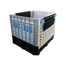 Plastic Pallet Box with Lid Plastic Containers Wholesale