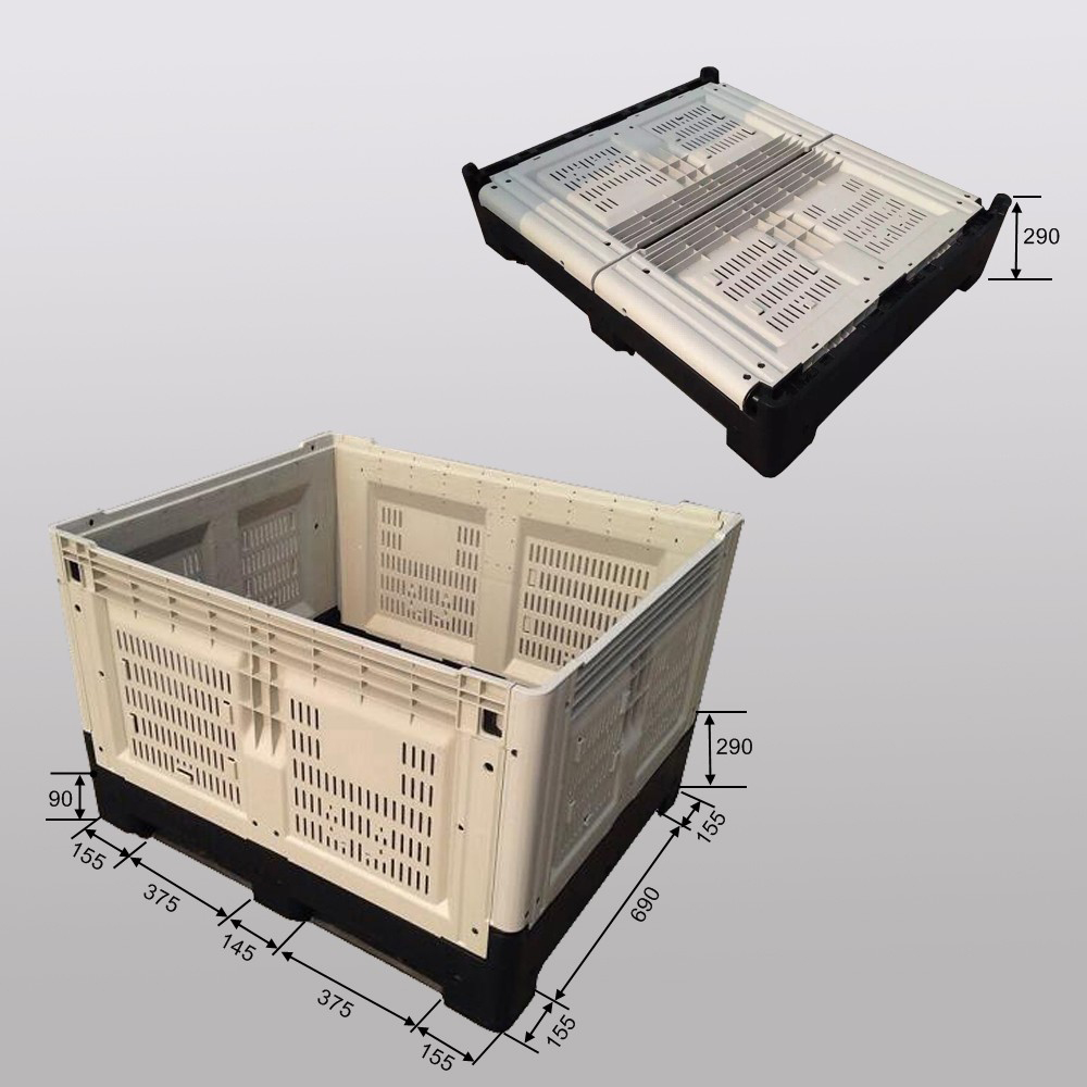 Foldable Pallet Container Plastic Totes Wholesale