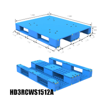 Anti-skid Strip Recycle Plastic Pallet for Racking