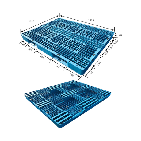 Smooth Surface Stackable Plastic Pallets for Storage