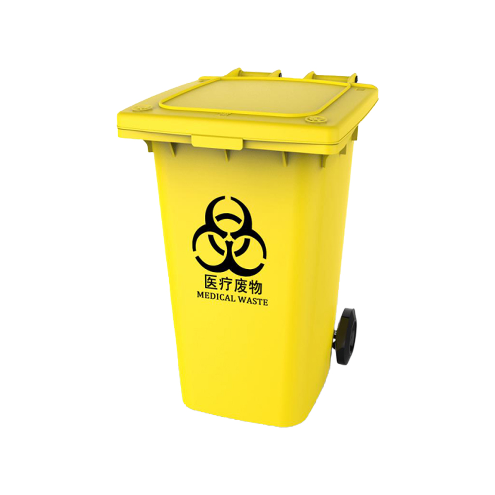 Outdoor 240L Plastic Waste Bin