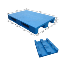 Recycled Plastic Pallet for Warehouse Storage