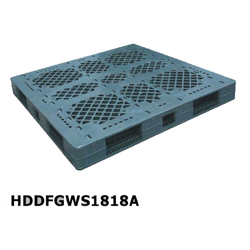Stackable Industrial Plastic Pallets 4 Way for Sale