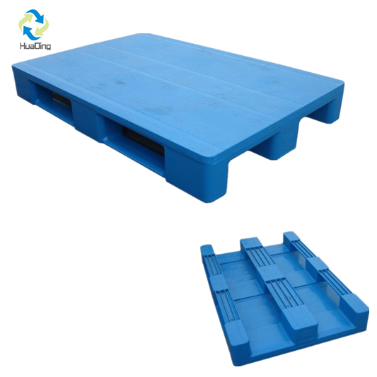 3 Runners Hdpe Closed Deck Export Plastic Pallet