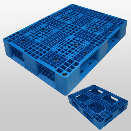 Plastic Euro Pallets for Sale Stackable Plastic Pallet with Full Perimeter Bottom