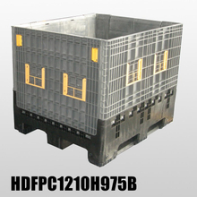 Foldable Pallet Container Wholesale Plastic Storage Boxes with Lids